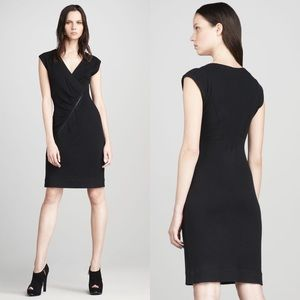 Marc by Marc Jacobs | Rosasite Black Ribbed Zip XS
